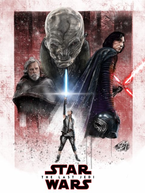 My Last Jedi Movie Poster
