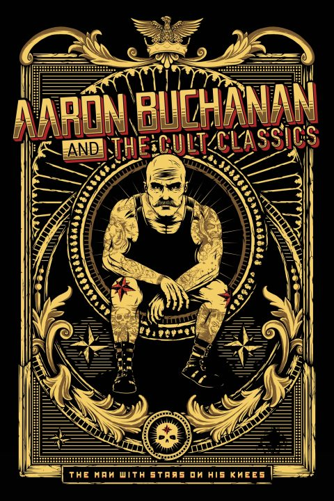 'Viktor' – T-shirt/Poster/Stage Banner – Aaron Buchanan And The Cult Classics | 2016