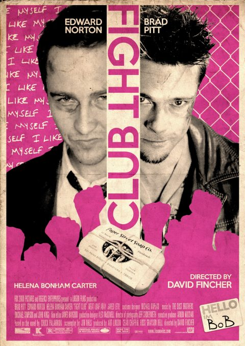 Fight Club Alternative Film Poster.