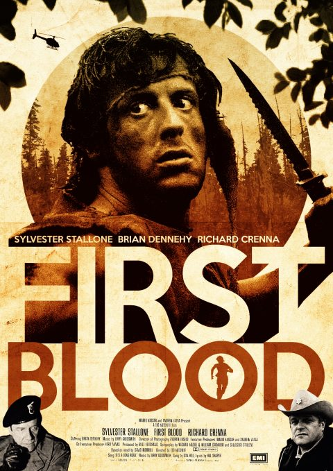First Blood alternative poster