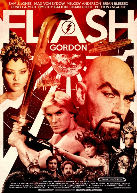 Flash Gordon Alternative Poster