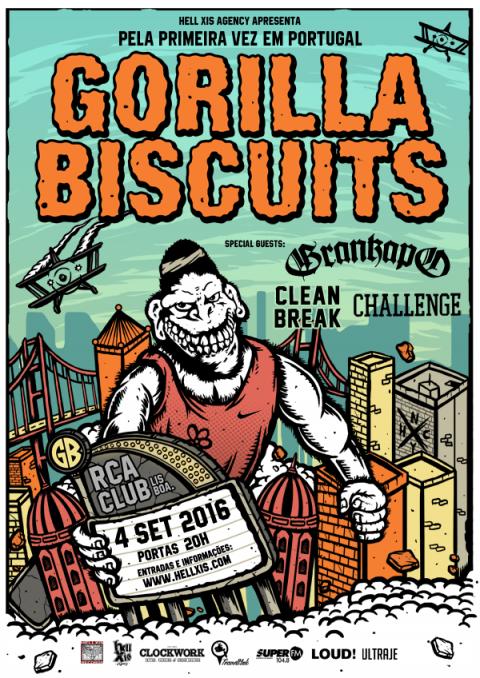 Gorilla Biscuits_Lisbon show