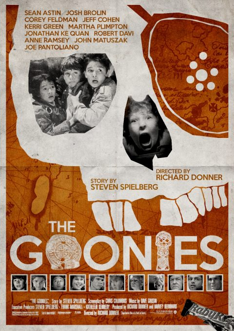 The Goonies Alternative Poster