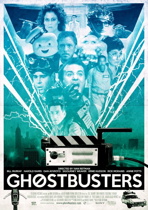Ghostbusters Alternative Film Poster Design