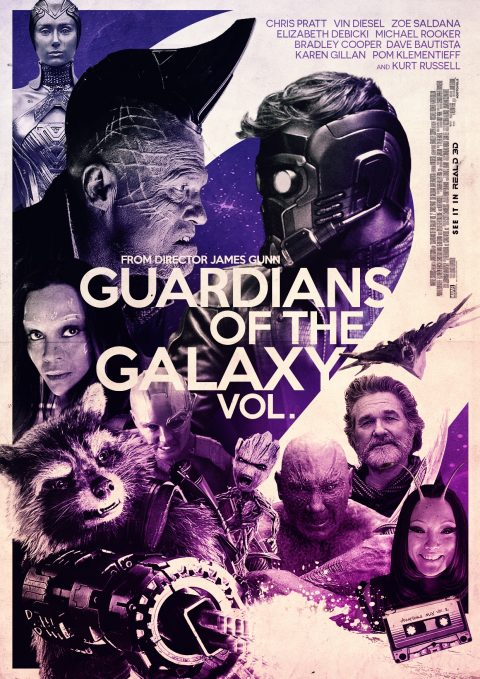 Guardians of the Galaxy Vol 2 Alternative Poster Design