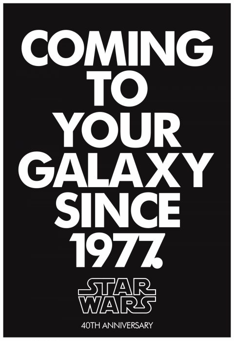 Coming to your galaxy since 1977