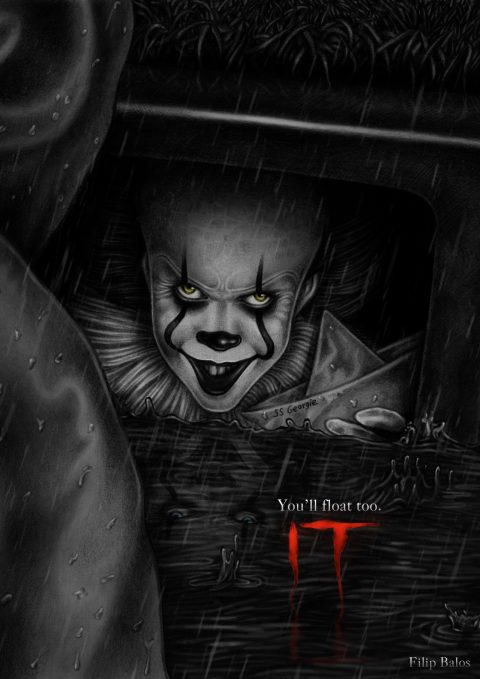 """We all float down here"" version 2"