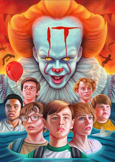 You'll Float Too – 'IT' illustrated movie poster