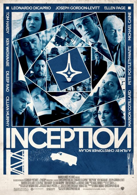 Inception Alternative Film Poster Design