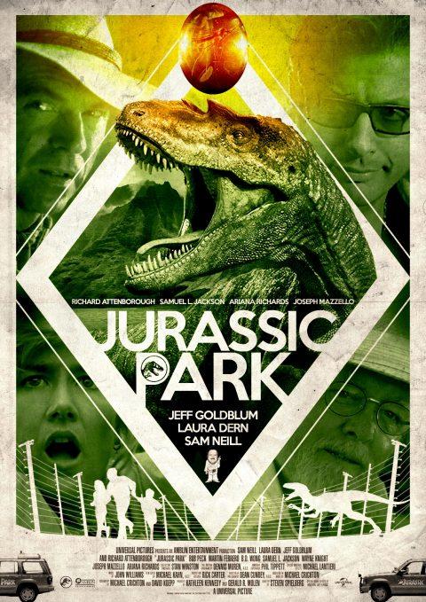 Jurassic Park Alternative Poster