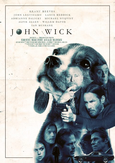John Wick alternative poster design