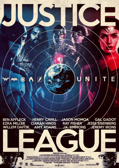 Justice League Tribute Poster