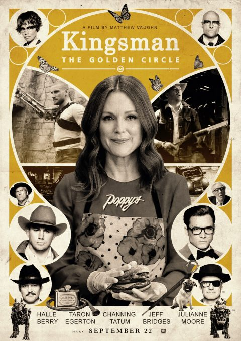 Kingsman: The Golden Circle alternative poster