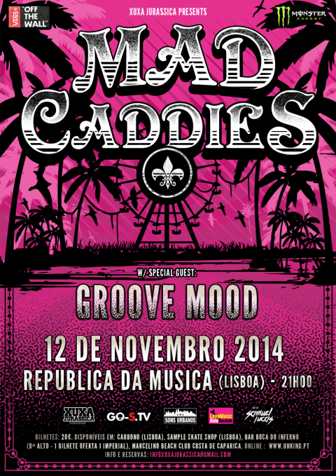 Mad Caddies_Portugal show