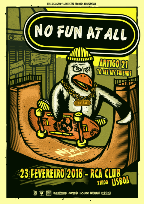 No Fun At All_Lisbon Show
