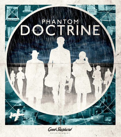 Indie key art for 'Phantom Doctrine'