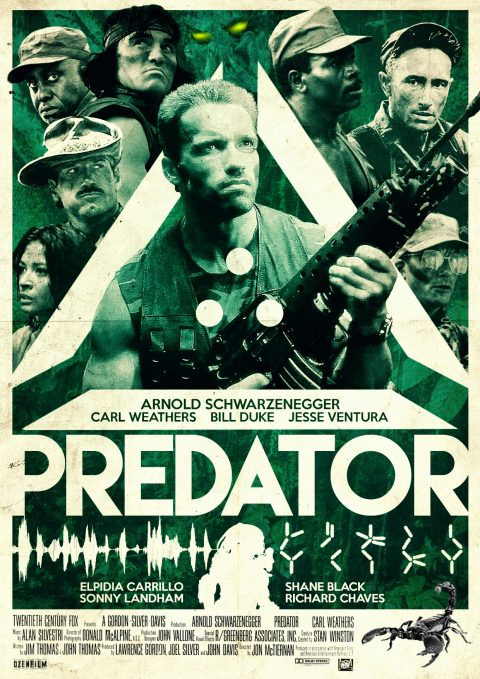 Predator Alternative poster design