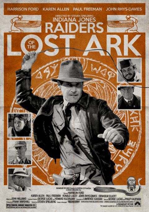 Raiders of the Lost Ark Alternative Poster