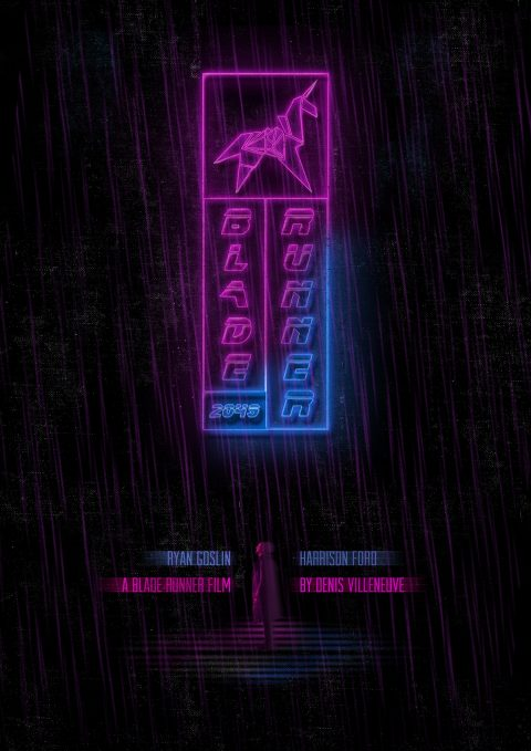 Blade Runner 2049 (Animated) poster design