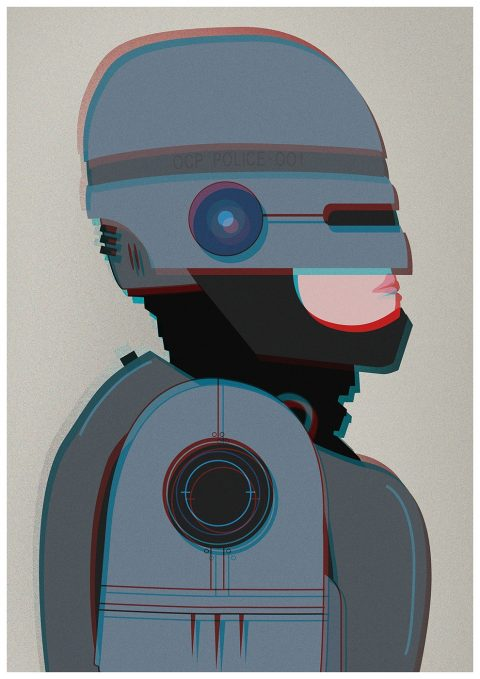Robocop Illustration