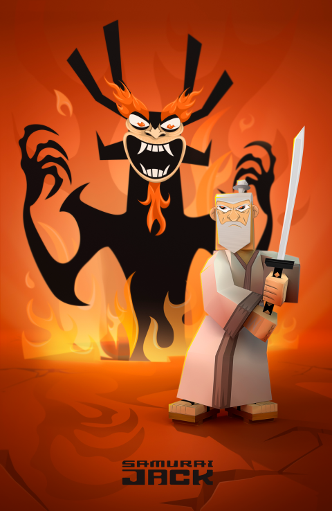 Samurai Jack / 30 years later /