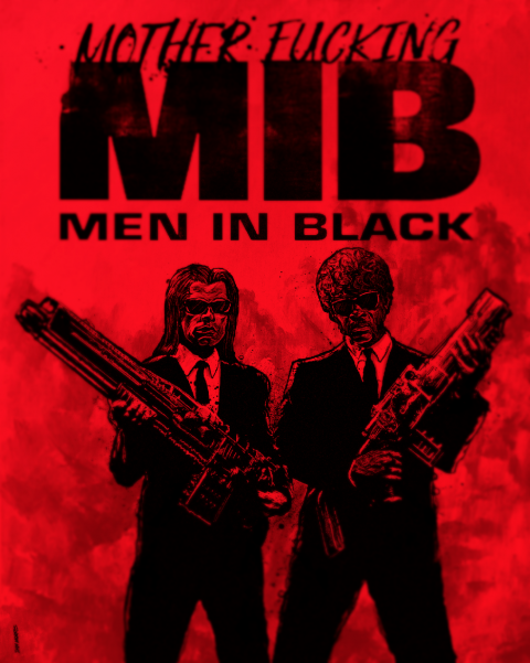 Quentin Tarantino presents Men in Black