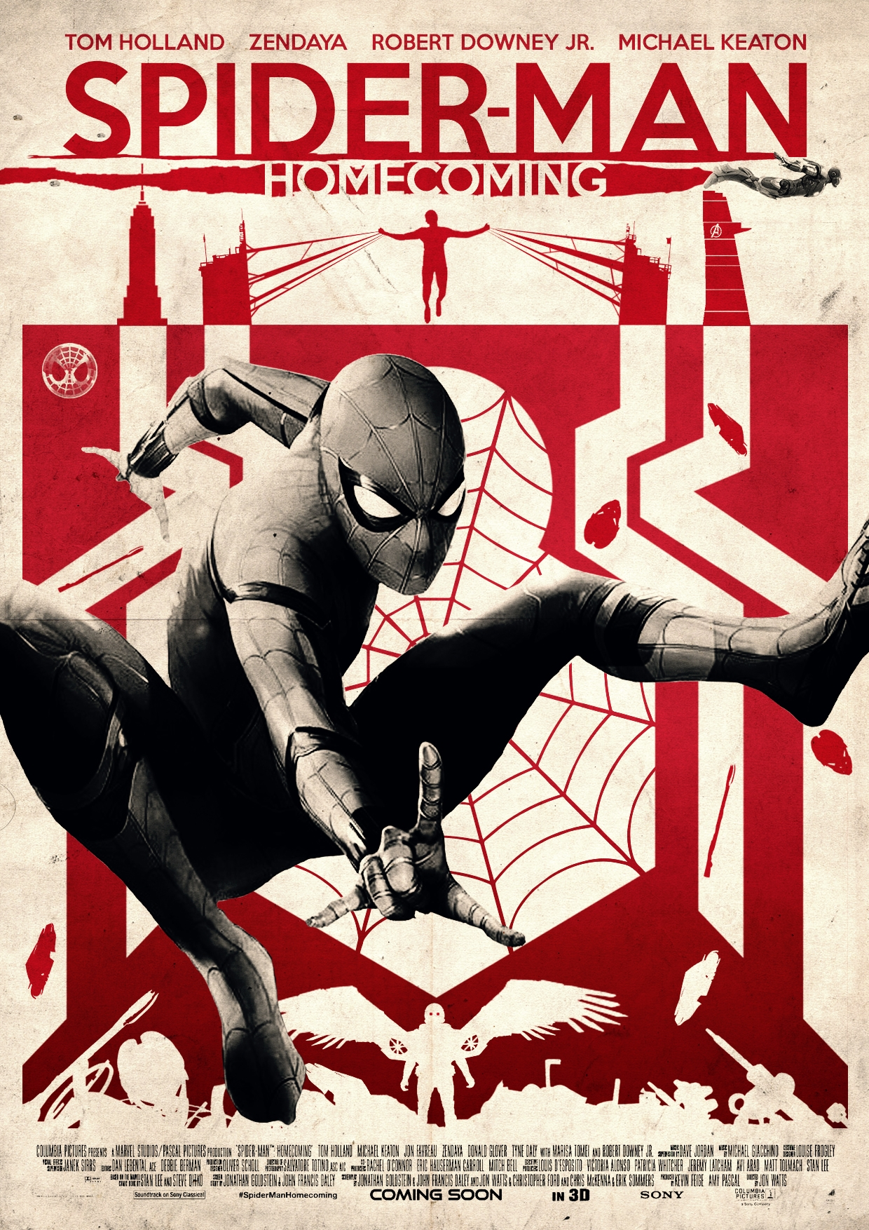 Spider Man Homecoming Alternative Poster Posterspy