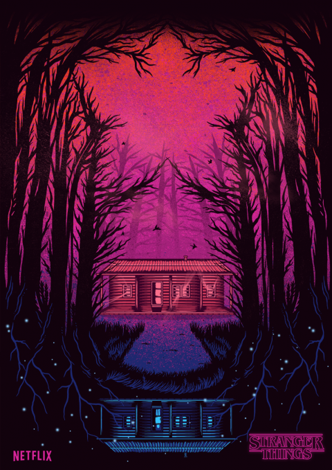 Stranger Things_Inspiration poster