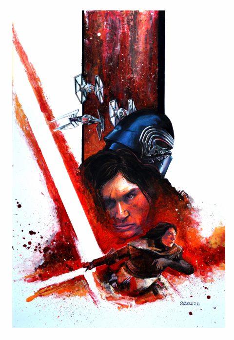 Star Wars Kylo Ren Concept Poster