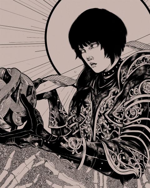 Persona 5 Death Tarot Poster
