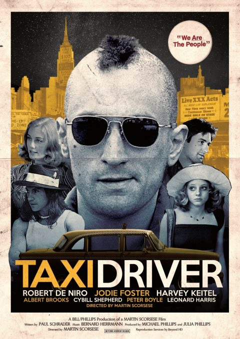 Taxi Driver Alternative Poster
