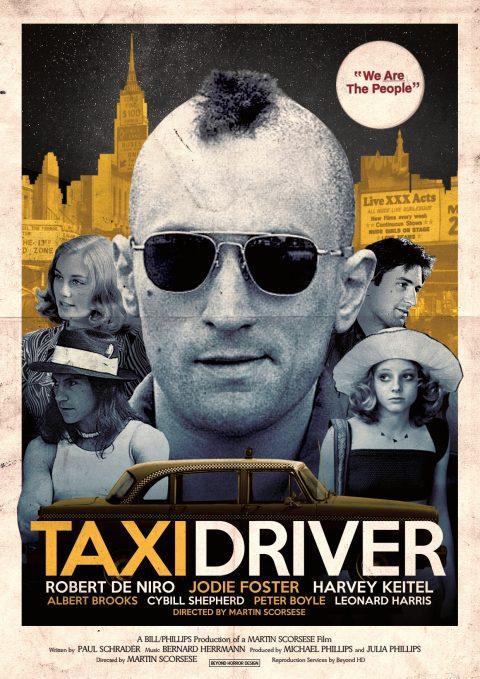 Taxi Driver Alternative Poster