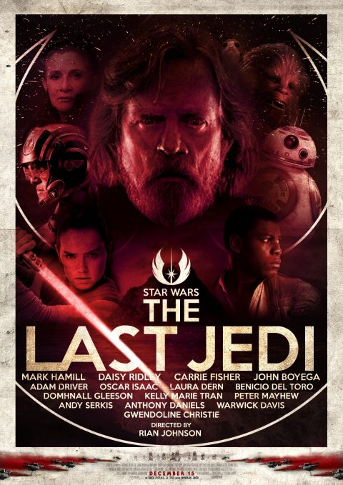 The Last Jedi alternative poster