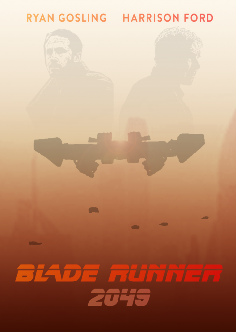 Blade Runner 2049 – flying cars – motion poster