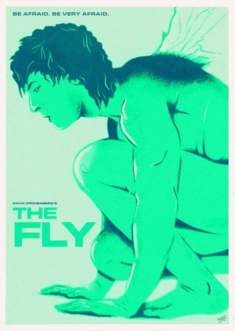 The Fly alternative poster