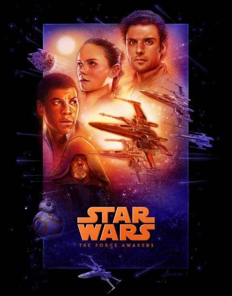 The Force Awakens Special Edition Tribute Poster