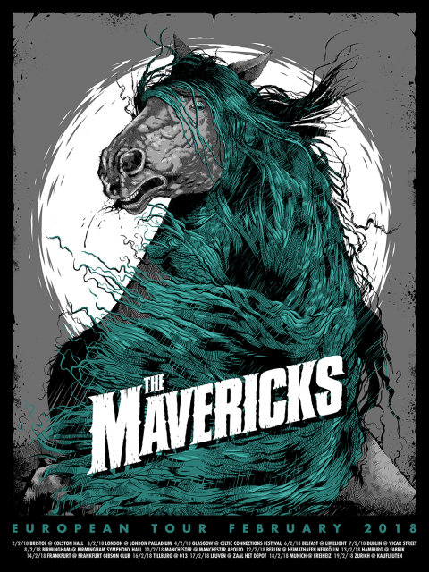 The Mavericks – European Tour Feb 18