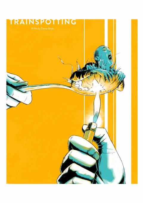 Trainspotting (1996) – poster