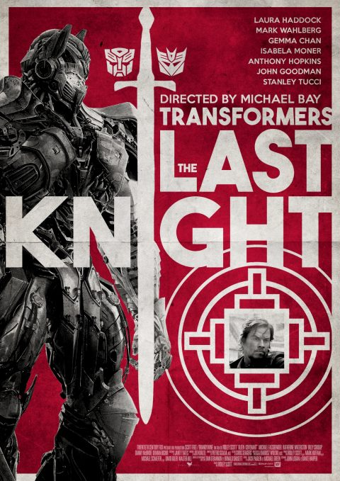 Transformers: The Last Knight Alternative Poster