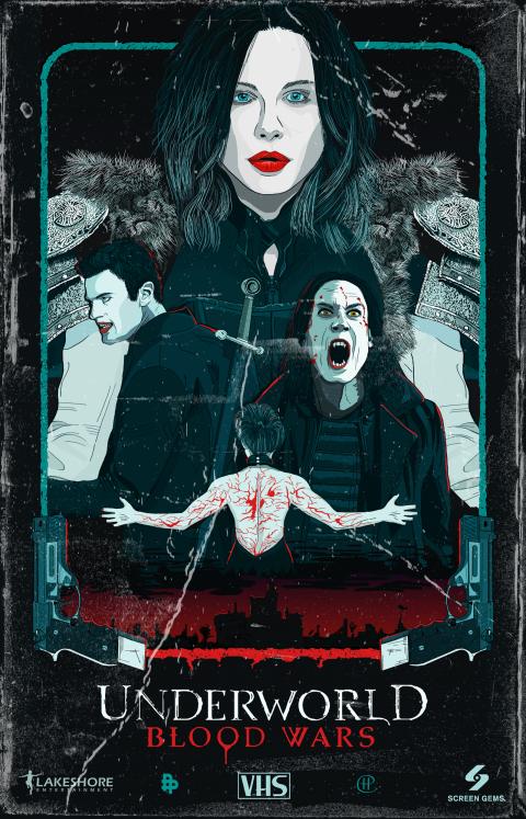 Underworld: Blood Wars VHS