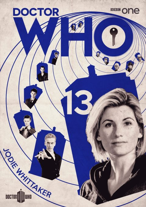 Doctor Who (13th Doctor) tribute poster design.
