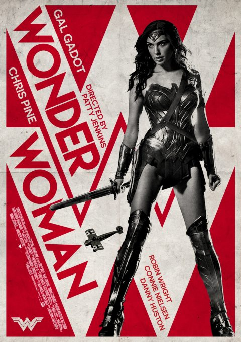WonderWoman Alternative Film Poster Design