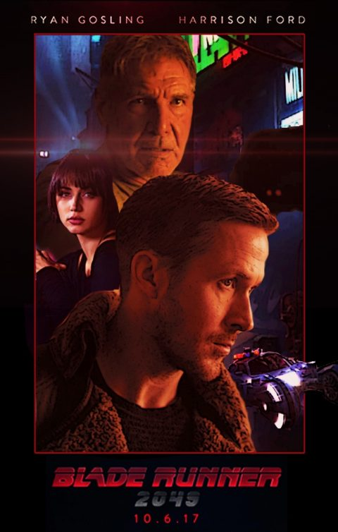 Blade Runner 2049 poster (revised)