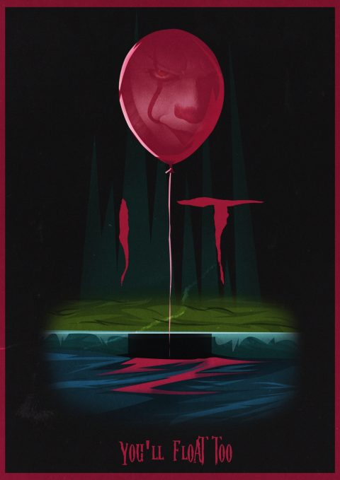 IT Movie Alternative Poster design 2
