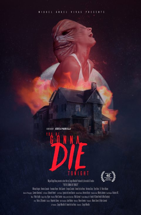 Short Film Poster : You're gonna die tonight