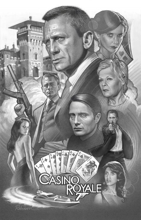 "Comp for Tribute Poster for ""Casino Royale"""