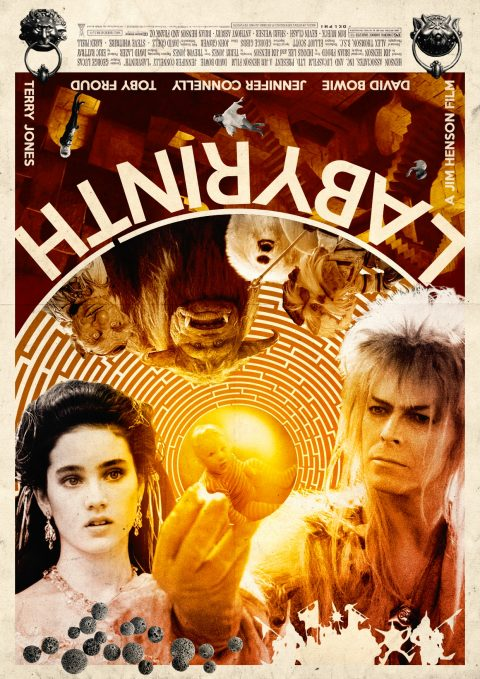 Labyrinth Alternative Film Poster Design