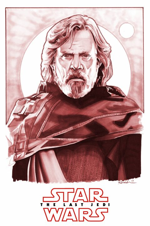 Luke Skywalker – The Last Jedi (marker comp)
