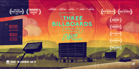 """You're pretty, but you ain't her"" Three Billboards Outside Ebbing Missouri"