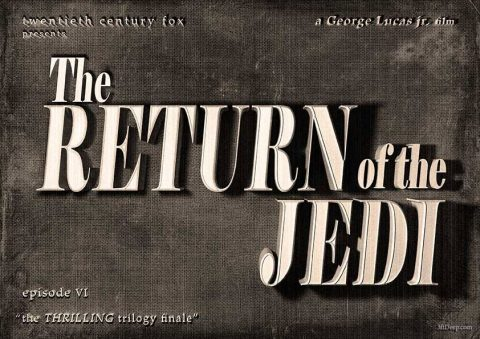 Return of the Jedi Vintage by 3ftDeep